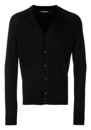 Dsquared2 buttoned cardigan - Black