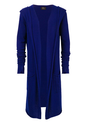Lost & Found Ria Dunn hooded long cardigan - Blue
