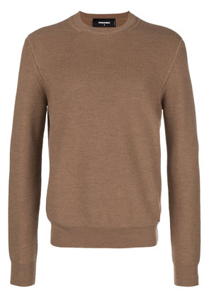 Dsquared2 ribbed sweater - Brown