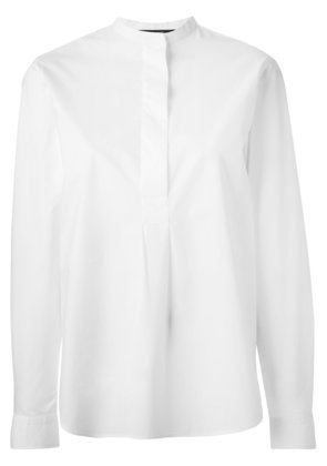 Sofie D'hoore band collar blouse - White