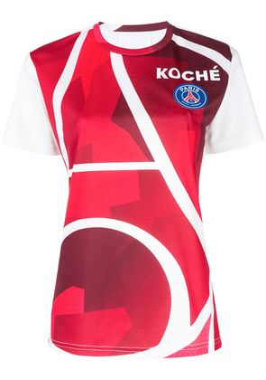 Koché graphic-print T-shirt - Red