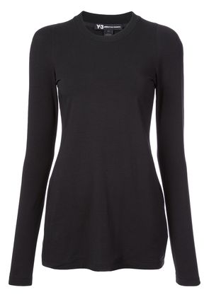 Y-3 Prime longsleeved T-shirt - Black
