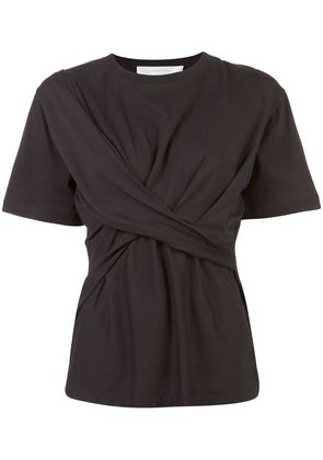 Victoria Victoria Beckham draped front top - Black