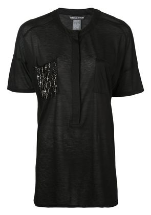 Thomas Wylde Upper T-shirt - Black