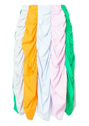 Paskal ruched prachute-style skirt - Multicolour