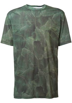 Baja East palm print T-shirt - Green