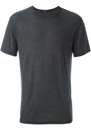 T By Alexander Wang round neck T-shirt - Grey