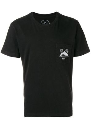 Local Authority dolphin print T-shirt - Black