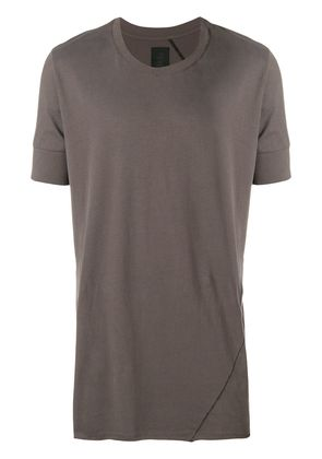 Thom Krom raw hem T-shirt - Grey