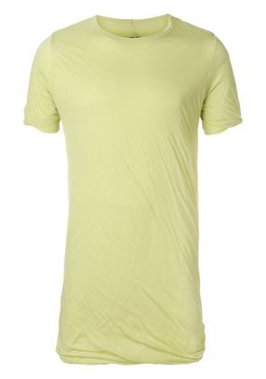 Rick Owens double layer T-shirt - Yellow & Orange