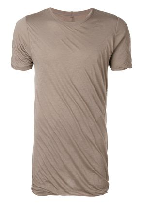 Rick Owens double layer T-shirt - Grey