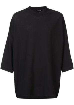 Isabel Benenato round neck T-shirt - Black