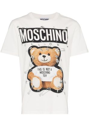 Moschino teddy bear print t-shirt - White