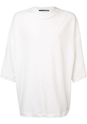 Isabel Benenato round neck T-shirt - White