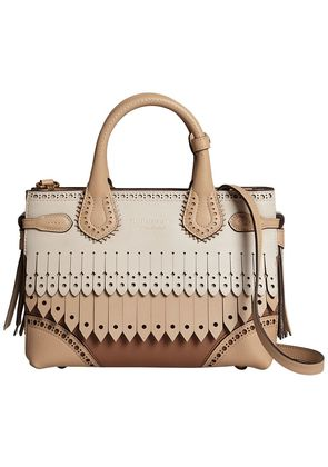Burberry small Banner tote - Brown