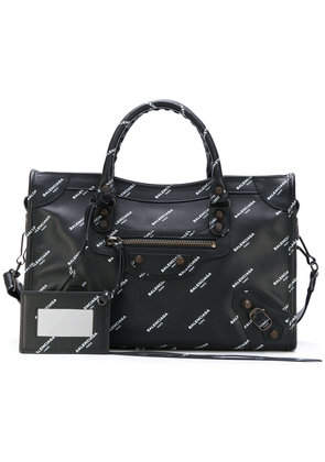 Balenciaga Classic City All Over Small tote - Black