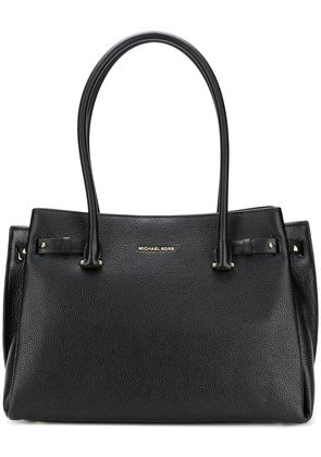 Michael Michael Kors grained open top tote - Black