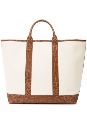 Michael Kors Collection Georgica extra-large tote bag - Nude &