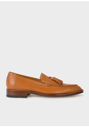 Women's Tan Leather 'Alexis' Loafers