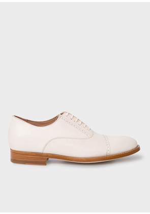 Women's Off-White Leather 'Bertie' Brogues