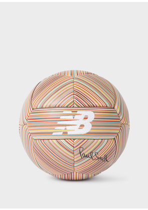 New Balance + Paul Smith - Signed Signature Stripe Leather Football