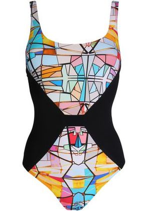 Lucas Hugh Woman Printed Swimsuit Multicolor Size S