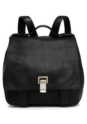 Proenza Schouler Woman Textured-leather Backpack Black Size -