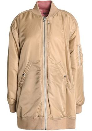 Opening Ceremony Woman Reversible Shell Bomber Jacket Sand Size M