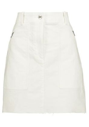 Rag & Bone Woman Grace Cotton-twill Mini Skirt White Size 2