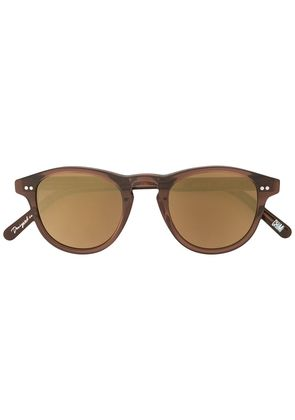 Chimi round tinted sunglasses - Brown
