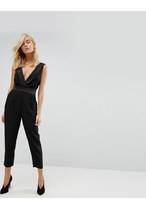 ASOS Ultimate Tux Jumpsuit - Black