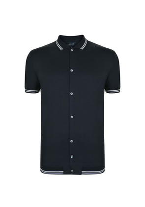 ARMANI JEANS Button Through Polo Shirt