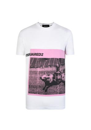 DSQUARED2 Rodeo Graphic Short Sleeved T Shirt