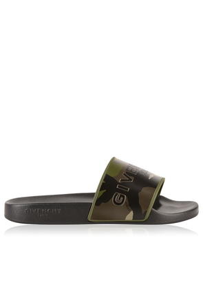 GIVENCHY Logo Camouflage Sliders