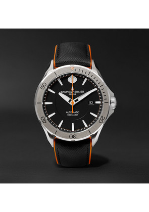 Clifton Club Automatic 42mm Stainless Steel And Leather Watch