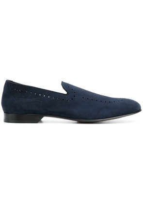 Dolce & Gabbana perforated loafers - Blue