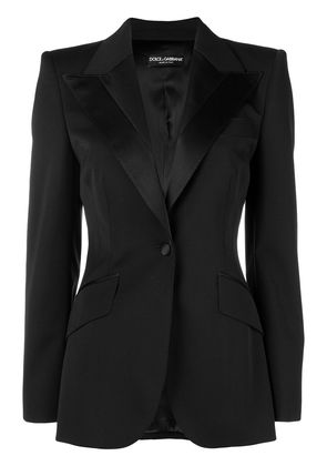 Dolce & Gabbana fitted waist jacket - Black