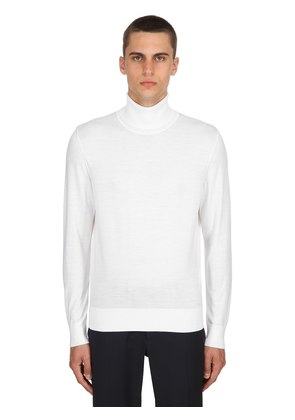 TECHMERINO WOOL KNIT SWEATER
