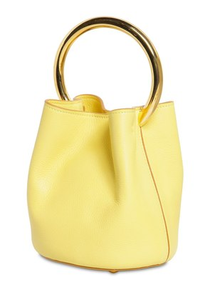 PANNIER LEATHER BUCKET BAG