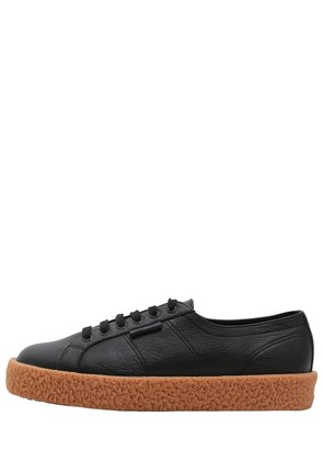 34MM MEGA PAURA LEATHER SNEAKERS