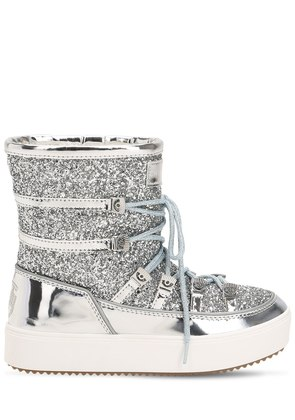 30MM GLITTERED SNOW BOOTS