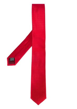 Fashion Clinic Timeless woven tie - Red