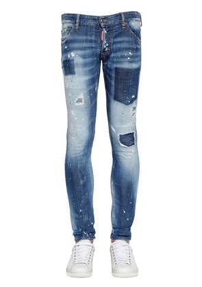 16.5CM CLEMENT SHADOW WASH DENIM JEANS
