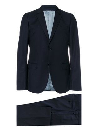 Classic silk wool blend suit
