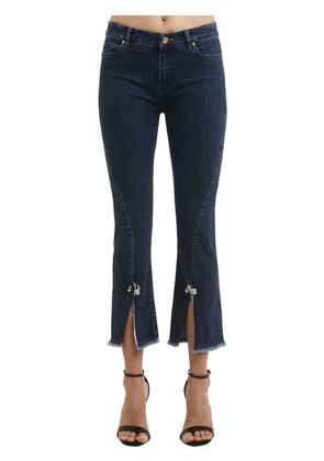 PETUNIA CROPPED STRETCH DENIM JEANS