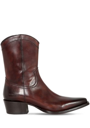50MM LEATHER COWBOY BOOTS