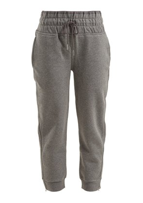 Essential cropped performance track pants