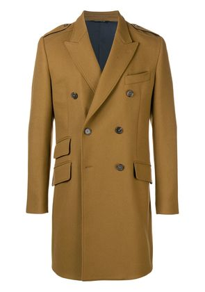 Dolce & Gabbana double breasted coat - Brown