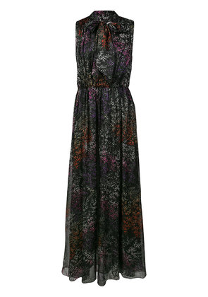 Co floral maxi dress - Black