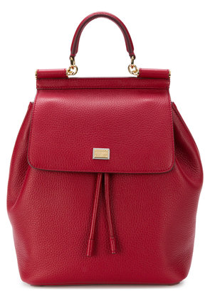 Dolce & Gabbana Sicily backpack - Red
